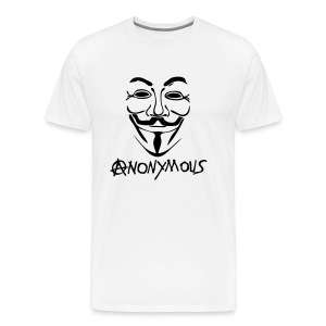 Anonymous  Le A en logo Anarchy  - T-shirt Premium Homme