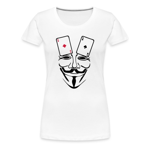 Anonymous paire d'AS - T-shirt Premium Femme
