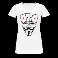 Tee shirts ~ T-shirt Premium Femme ~ Anonymous carré d'AS