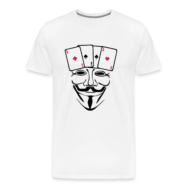 D'asT Premium Homme Carré Shirt Anonymous lc3T1JFK