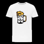 Tee shirts ~ T-shirt Premium Homme ~ Anonymous dans une biere