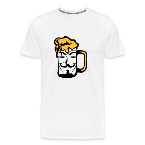 Anonymous dans une biere - T-shirt Premium Homme
