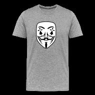 Tee shirts ~ T-shirt Premium Homme ~ Anonymous breton hermine