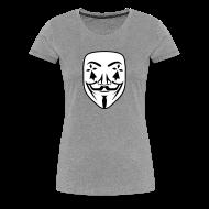 Tee shirts ~ T-shirt Premium Femme ~ Anonymous breton hermine