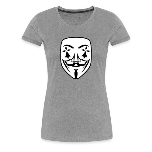Anonymous breton hermine - T-shirt Premium Femme