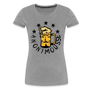Anonymousse - T-shirt Premium Femme