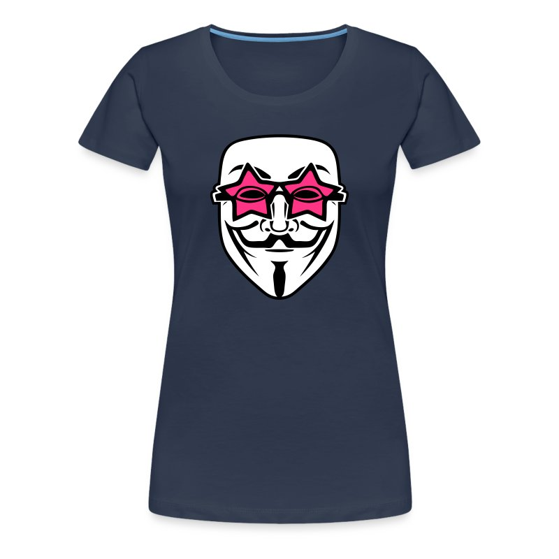 Anonymous lunette de stars - T-shirt Premium Femme