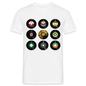 dj vinyl - Men's T-Shirt