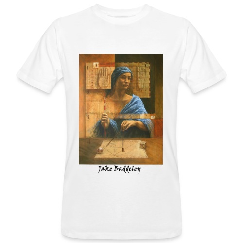 Jake Baddeley - Number Eight (white) - Men's Organic T-Shirt