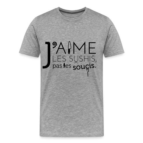 J'aime les sushis... - T-shirt Premium Homme