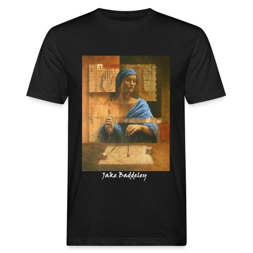 Jake Baddeley - The Number Eight (black) - Men's Organic T-Shirt
