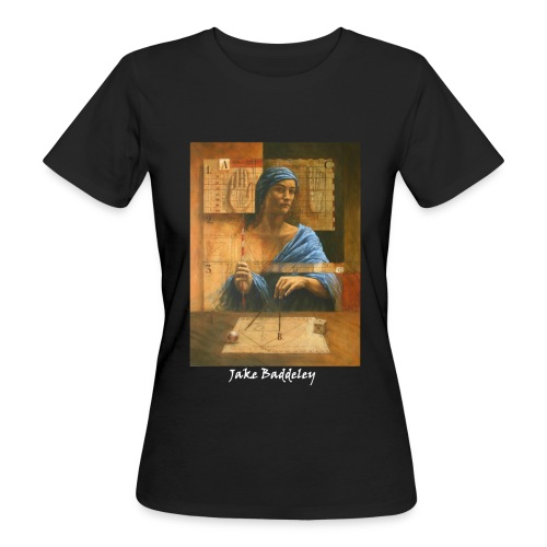 Jake Baddeley - The Number Eight (black) - Women's Organic T-Shirt