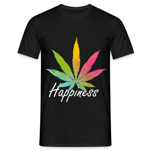 Happiness Weed Shirt - T-shirt Homme