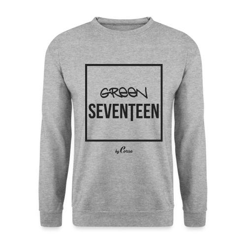 Green Seventeen White Sweatshirt - Men's Sweatshirt