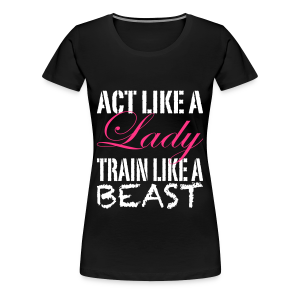 Frauen Premium T-Shirt - Bodybuilding,Crossfit,DYEL,Deutschland,Do You Even,Fitness,Lift,Motivation,Shirts,Training,Weightlifting,shirt
