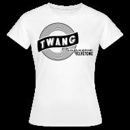 T-Shirts ~ Frauen T-Shirt ~ Velvetone Twang T-Shirt Female