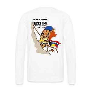 alternatief longsleeve maten S t/m XXL - Mannen Premium shirt met lange mouwen