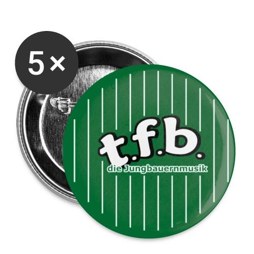 Button-Set t.f.b. (25 mm) - Buttons klein 25 mm (5er Pack)