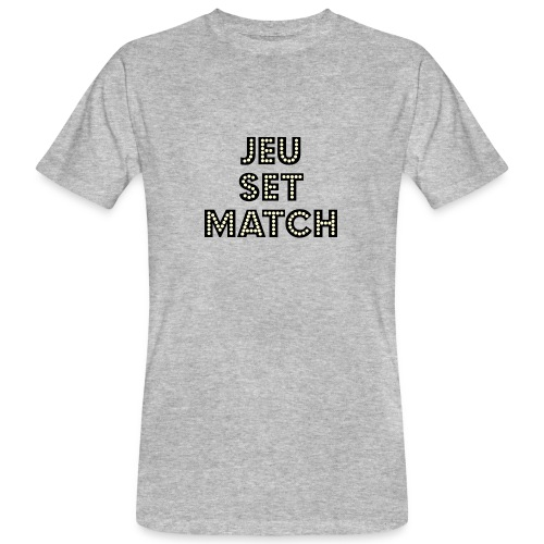JEU SET MATCH Organic T-Shirt - Men's Organic T-Shirt