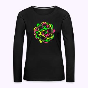 Cyber Twister Women's long sleeve shirt - Women's Premium Longsleeve Shirt