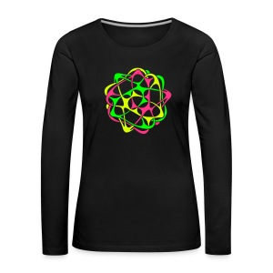 Cyber Twister: Women Long Sleeve - Women's Premium Longsleeve Shirt