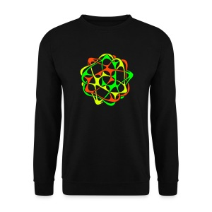 Cyber Twister Men's Sweatshirt - Men's Sweatshirt
