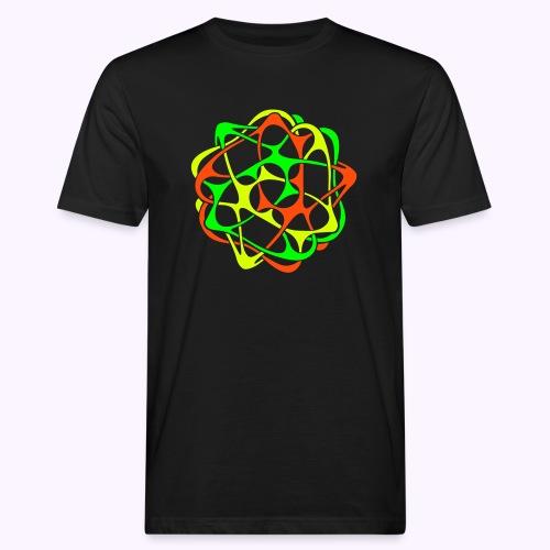 Cyber Twister Men's Organic Shirt - Men's Organic T-Shirt