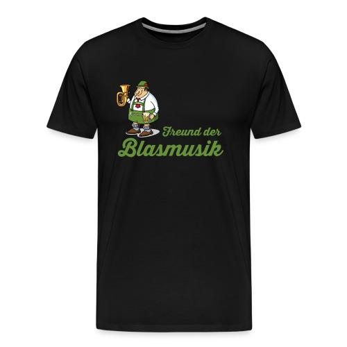Herren-Shirt Freund der Blasmusik - Männer Premium T-Shirt