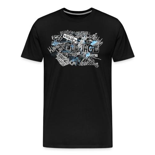 Hand Paint Subotage Shirt - Männer Premium T-Shirt