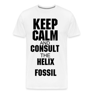 Helix Fossil White - Men's Premium T-Shirt