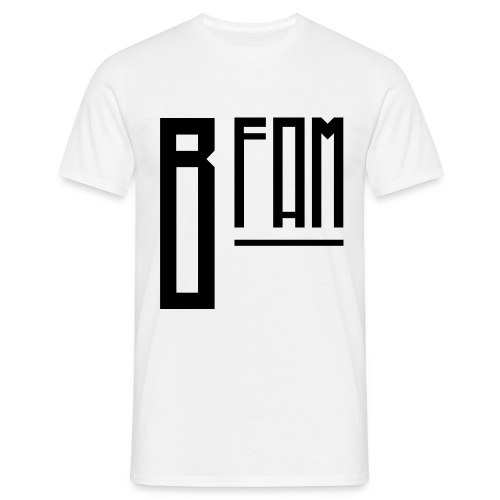 B-Fam T-Shirt w/ BB Quote (White) - Men's T-Shirt