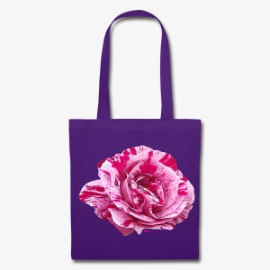 Rose zébrée - Tote Bag