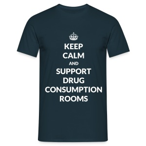 T-shirt - Keep Calm and Support DCRs - T-shirt Homme