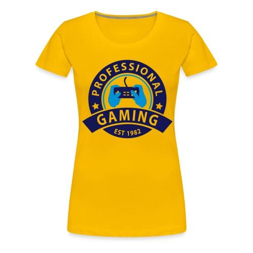 Gaming est - T-shirt Premium Femme