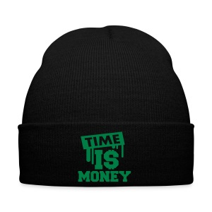 Bonnet  Time is money  - Bonnet d'hiver