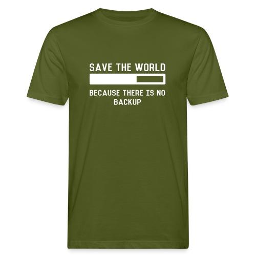 Save The World - Männer Bio-T-Shirt