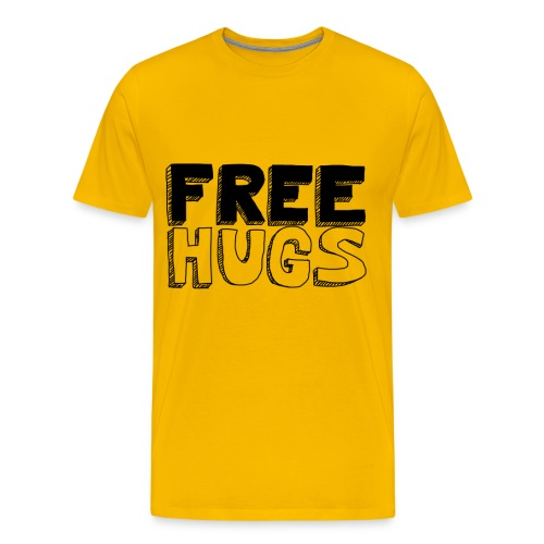 FREE HUGS Prenium Homme - T-shirt Premium Homme