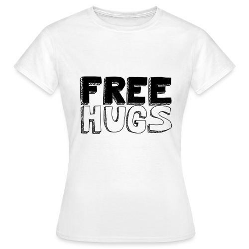 FREE HUGS Femme - T-shirt Femme