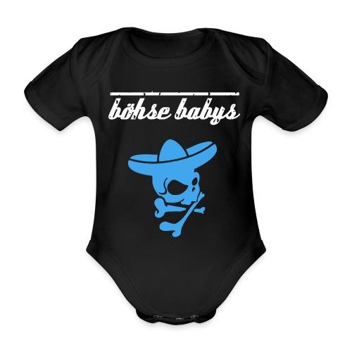 böhse babys Strampler Boys - Vergöttert - Baby Bio-Kurzarm-Body