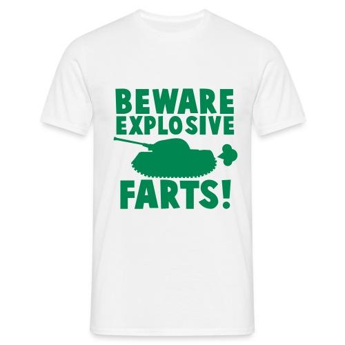 Beware Explosive - Men's T-Shirt