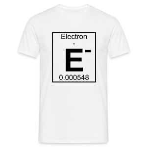 Electron (E) (Element) - Full 1 col Shirt - Men's T-Shirt