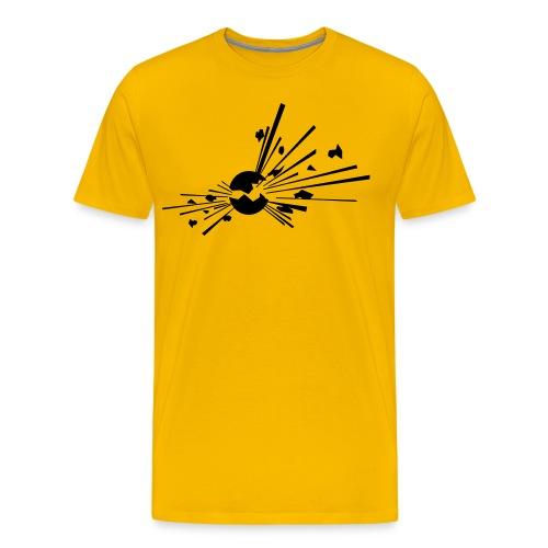 Räjähde - Miesten premium t-paita