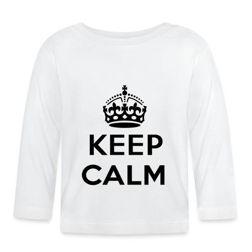 Keep calm - Baby Long Sleeve T-Shirt