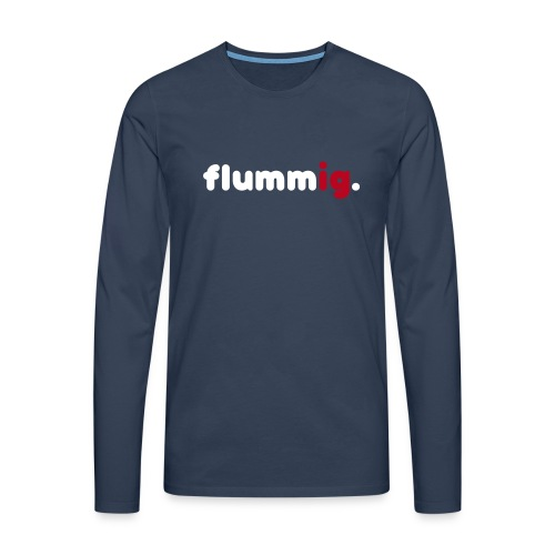 FLUMMIG. Långärmade T-shirts - Långärmad premium-T-shirt herr