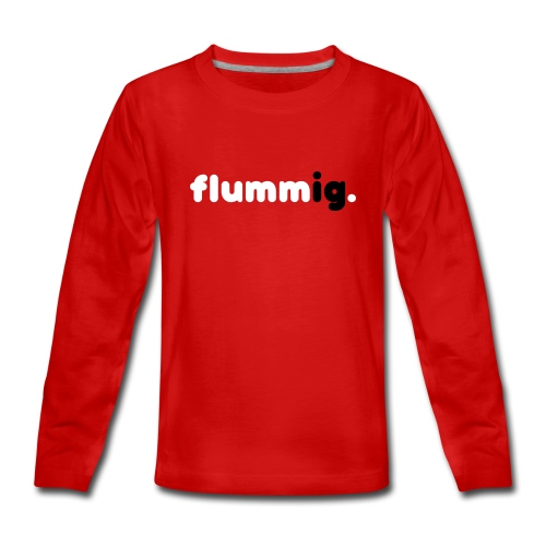 FLUMMIG. Långärmade T-shirts - Långärmad premium-T-shirt tonåring