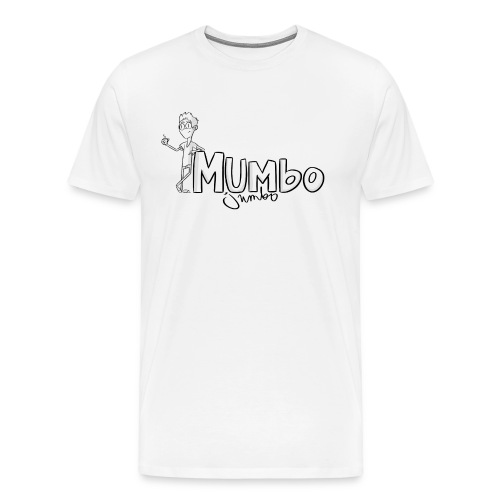 Mumbo Jumbo T-Shirt [Ioana Ruth Design] [Male] - Men's Premium T-Shirt