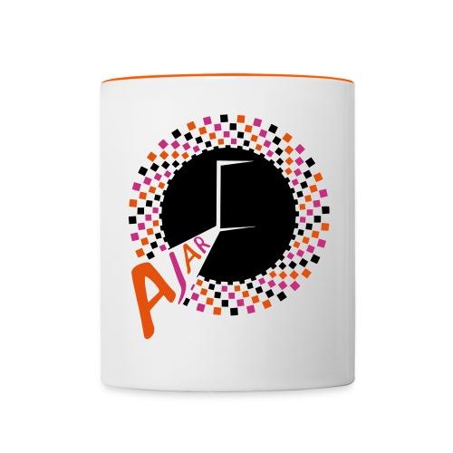 AJAR Records Spiral Logo Mug - Contrasting Mug