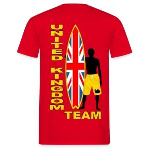UK surfing team  - Men's T-Shirt