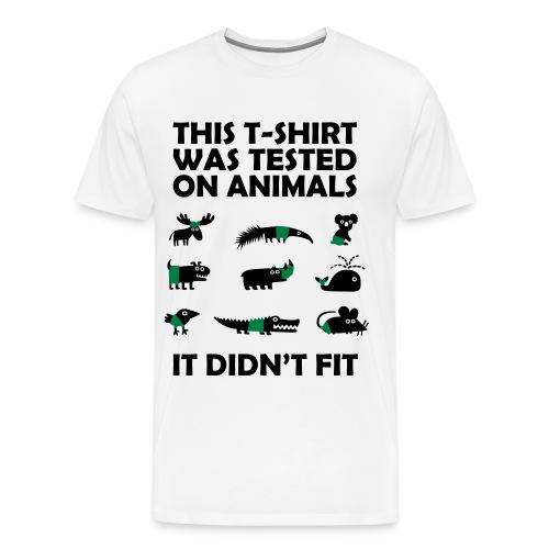 Tested on... - Men's Premium T-Shirt