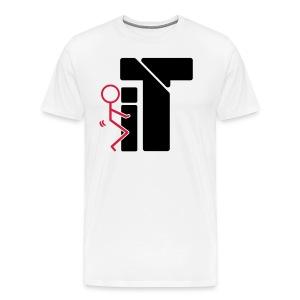 ---- It  - Men's Premium T-Shirt